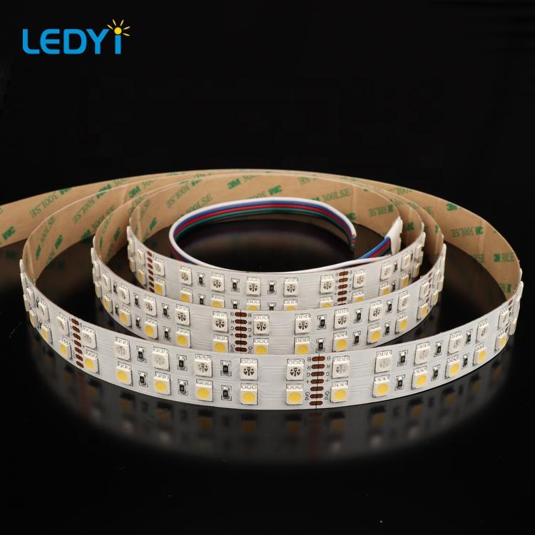 20mm width 144leds/m 5050SMD RGB+W DC24V LED Strip Light