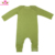 Fall Winter Full Sleeve Olive Green Newborn Infant Baby Boys Girls One Piece Blank Romper Clothes Jumpsuit Sleep and Play