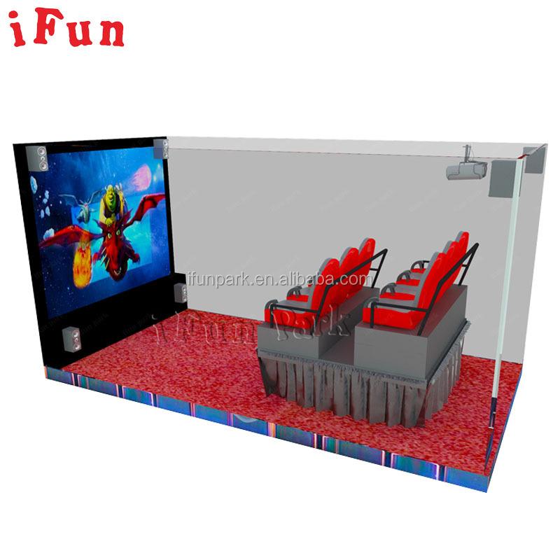 5D/7D/9D/12D/XD dinamik sinema eğlence eğlence elektrikli 6DOF sinema ekipmanları özel efekt