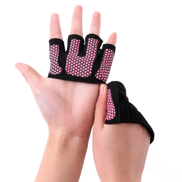 AKibody Antislip Half Vinger Gym Yoga Handschoenen voor Training