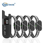 Amazon Preferred Waterproof Electronic Rechargeable Static Shock Vibrating Remote Control Pet Dog Training Collar