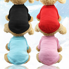 Pet dog cat Clothes blank pet dog hoodie cloth basic polo shirts