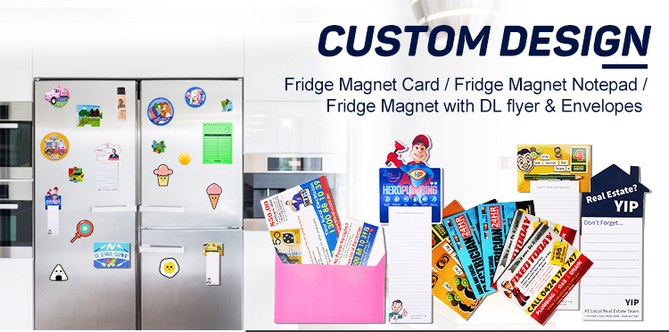 Business Card Size Give Away Fridge
