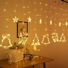 Hot selling new style Christmas window curtain string light