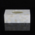 White mother of pearl resin vase for hotel resin bathroom accessories