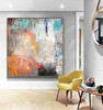 Wholesale Supplies Large Painting Original Oversize Painting Colorful Living Room Home Decoration For Wall