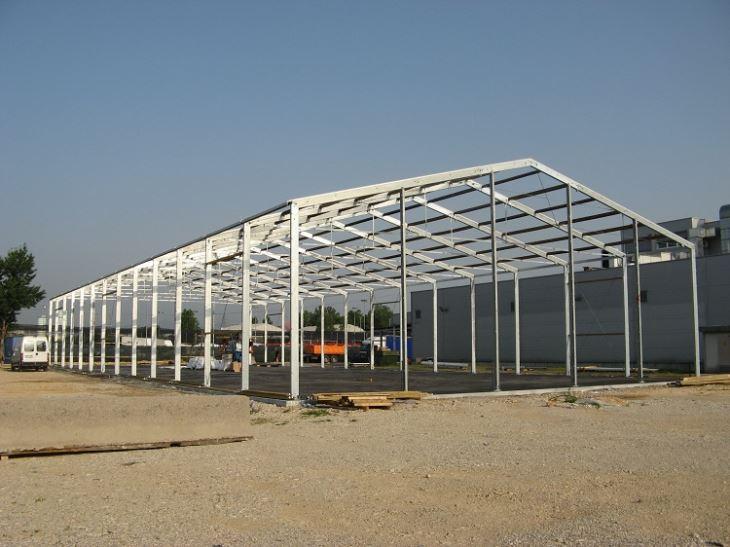 Steel Structure Prefab Workshop
