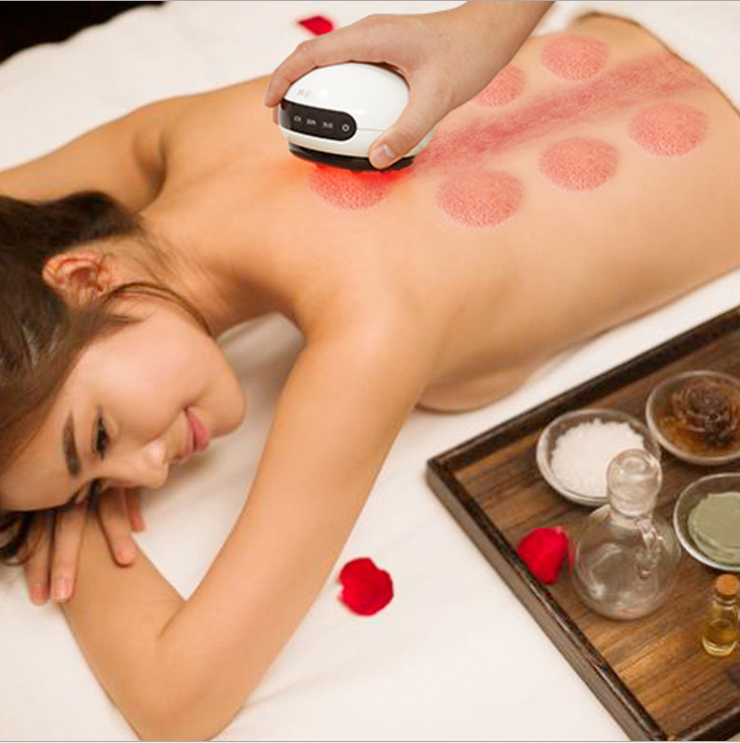 High Quality Electric Vacuum Full Body Mini Gua Sha Cupping Device for SPA Club