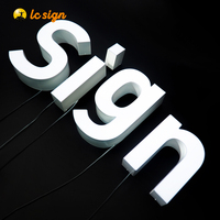 Led business light logo sign and name boards shop name board designs