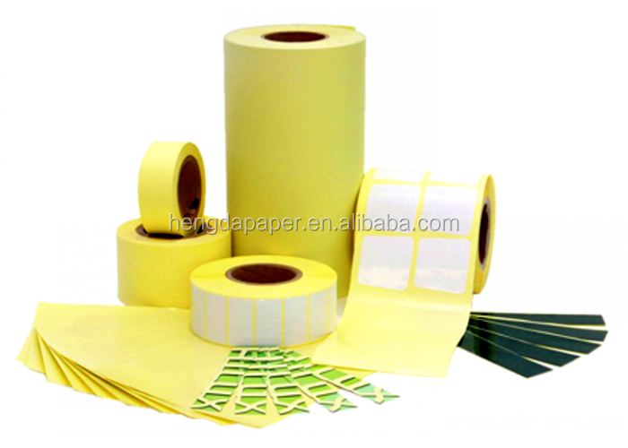 Yellow Silicon Release Paper