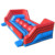 Red Inflatable Big Baller Wipeout Obstacle Course Games Leaps n Bounds Playground Outdoor Inflatable Wipe out Game Jump Balls