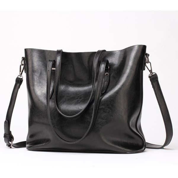Women Leather Handbags Women's PU Tote Bag Large Female Shoulder Bags Bolsas Femininas Femme Sac A Main Brown Black Red