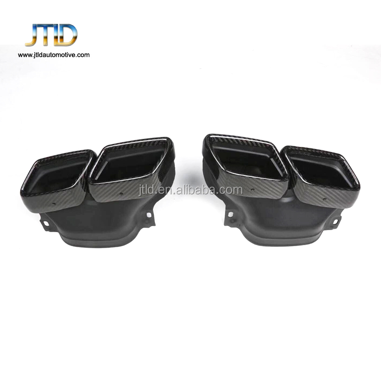 made in China hot sale performance carbon fiber exhaust tip for benz amg