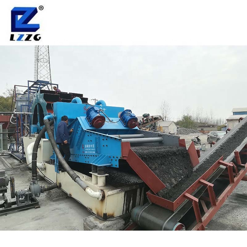 The China top brand LZZG best sell factory mining construction sand gravel silica sand washer sand washing machine