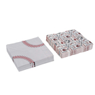 Baseball Themed Napkins Tableware Perfect for Game Day, Tailgating, Sports Events, Family Dinner and Birthday Parties