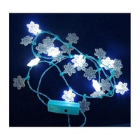 Flashing floral home decoration lights customised holiday christmas halloween decoratio flashing led ornament for birthday party