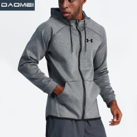 New product 2019 custom men's jackets gym wearing sport training running Hoodie tracksuits jacket