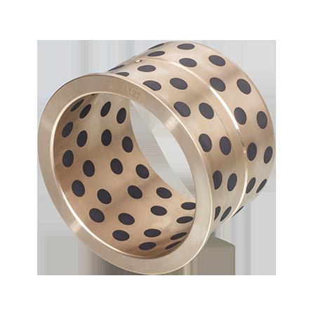 SPB SPF SOB Oilless Metal Sleeve Bronze Bearings With Graphite