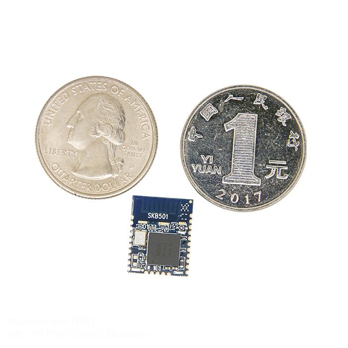 סקיילאב SKB501 FCC/CE/BQB נורדי nRF52840 Ble bluetooth אנרגיה נמוכה מודול USB ממשק פין החוצה