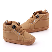 New arrival pu baby boy sports shoes newborn shoes baby in bulk