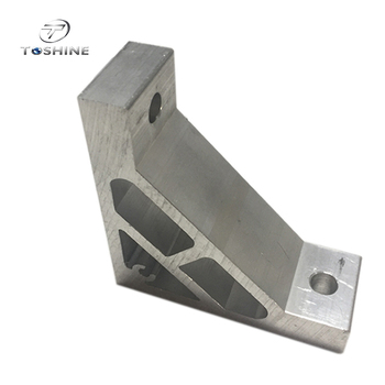 Aluminium Profile T Slot Extrusion Connector For Solar Frame / Oem Aluminium T Connector / Aluminium Profile Connector