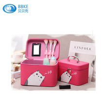 Custom <span class=keywords><strong>Pu</strong></span> <span class=keywords><strong>Cosmetische</strong></span> Brush Case Leather Make Up Organizer Borstel Zak, hot Koop <span class=keywords><strong>Cosmetische</strong></span> Organiser Koe Lederen Make-Up Borstel Zak