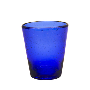 330ml Capacity Shot DPA Free Glass Blue Color Type Bubble Mini Glass Cup