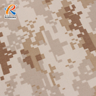 65% Polyester 35% Cotton Multicam Camouflage Printed Ripstop Fabric