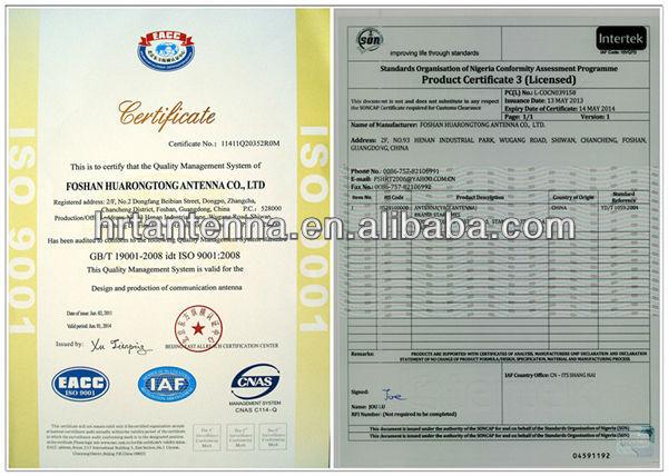VHF 134 ~ 173MHz 8.5dBi Omni Fiberglass Antenna TQJ-150A