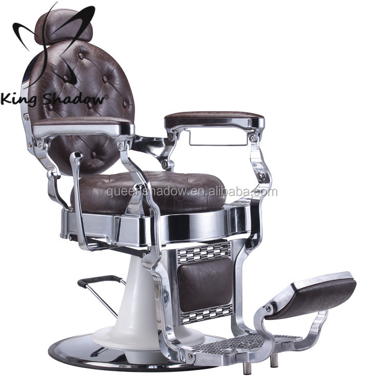 kingshadow barbershop equipment vintage barber chair antique brown barber shop chairs