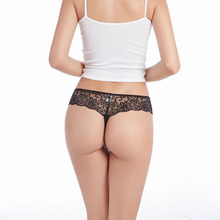 Low-Rise Hohl G-string Sexy Transparent <span class=keywords><strong>Damen</strong></span> Unterwäsche Tanga Spitze <span class=keywords><strong>Höschen</strong></span> Für frauen