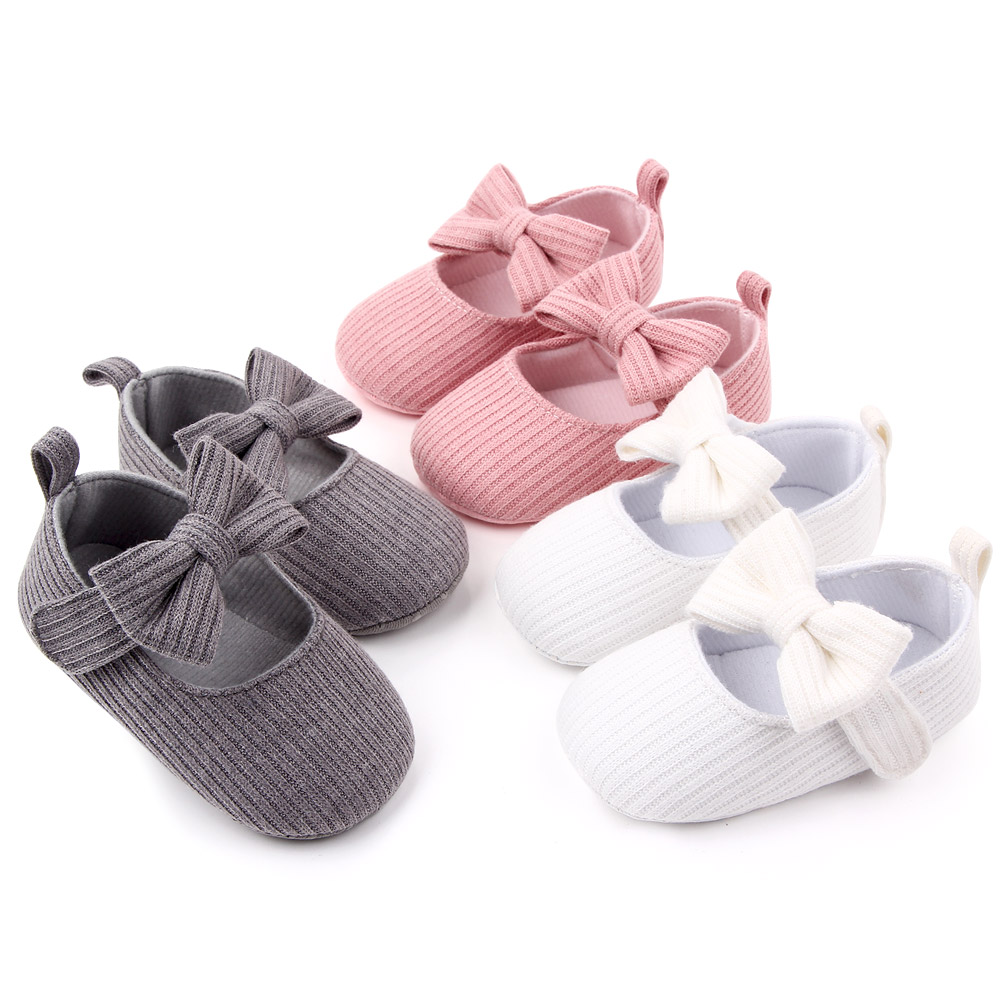 Autumn&winter baby girl shoes big flower infant dress shoes in bulk