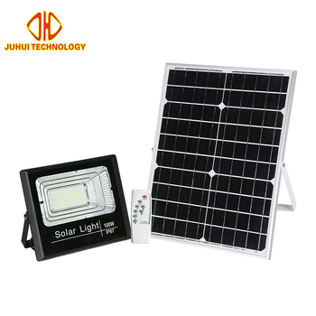 Hot selling style ip67 outdoor aluminum 50A 100w 150w  solar led flood light