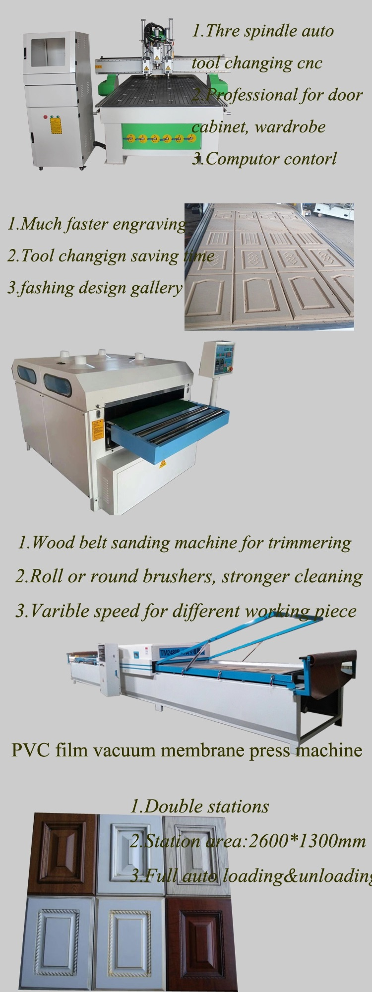 Custom cnc carving machine price manufacturers for woodworking-9