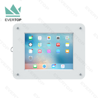 LSW01-B 7.9-13 inch Anti-theft advertising Acrylic wall mounted tablet bracket,secure for tablet wall holder for surface