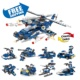 Free Shipping 8 In 1 Police Building Brick Sets Children Toys Low MOQ ABS Plastic Amazon Hot Sale SWAT Building Blocks For Kid