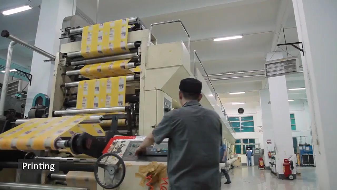 Personalizado Impresso BOPP/CPP estoque Roll Filmes para chips de lanche de café em pó