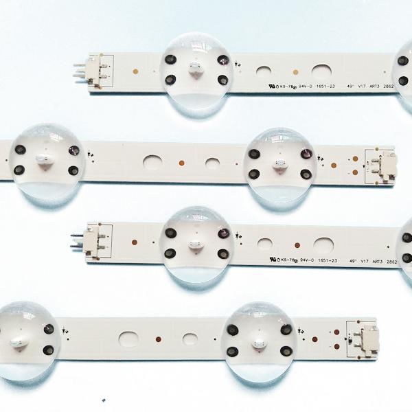 LED backlight strip for LG 49inch 49 V17 ART3 2862 REV0.2 49 V17 ART3 2863 REV0.2 49inch led 49inch tv 49inch led tv 49inch tv49
