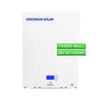 12years warranty LiFePO4 lithium battery 48V 100AH tesla power wall 5kwh 10kwh