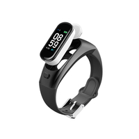 Sport smart watch earphone smart band for blood pressure wireless Bluetoothspeaker headphone