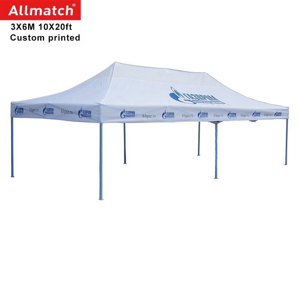 Wholesale outdoor waterproof portable cheap custom printed folding food stall market event 10x20 10x10 canopy tent for vendor