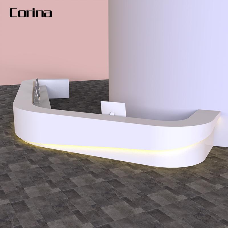Corina 2020 neueste weiß rechteckige künstliche stein rezeption moderne