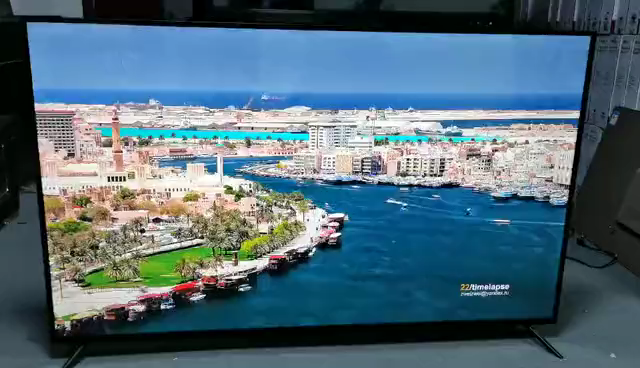 2020 Cheapest big size 75 inch 4K 3D Smart Led Tv with wifi tv smart