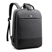 backpack men usb knapsack laptop bag mans Suitcase can be set Typed Anti-theft pocket Safety