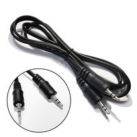 Digital cable 3.5mm 4mm 7.5mm audio cable jack headphone cable with microphone