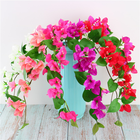 Hot Sale Silk Flowers Bougainvillea Artificial Flower For Home Decor