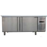 commercial restaurant refrigerators & freezers work table