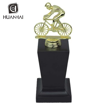 production various sports Running swimming bike bowling trophy making supplies