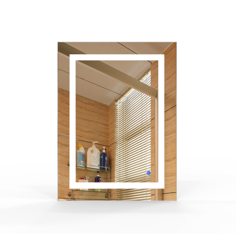 2020 Amazon Hot Seller Hotel Bathroom Vanity LED Lighted Wall Mounted Smart Mirrors