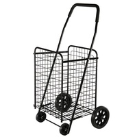 Cheap Supermarket Hand Carts Trolleys Shopping Trolleys Carts With Wheel